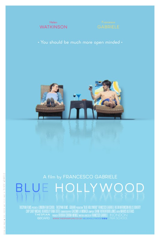 Poster Blue_Hollywood_Poster