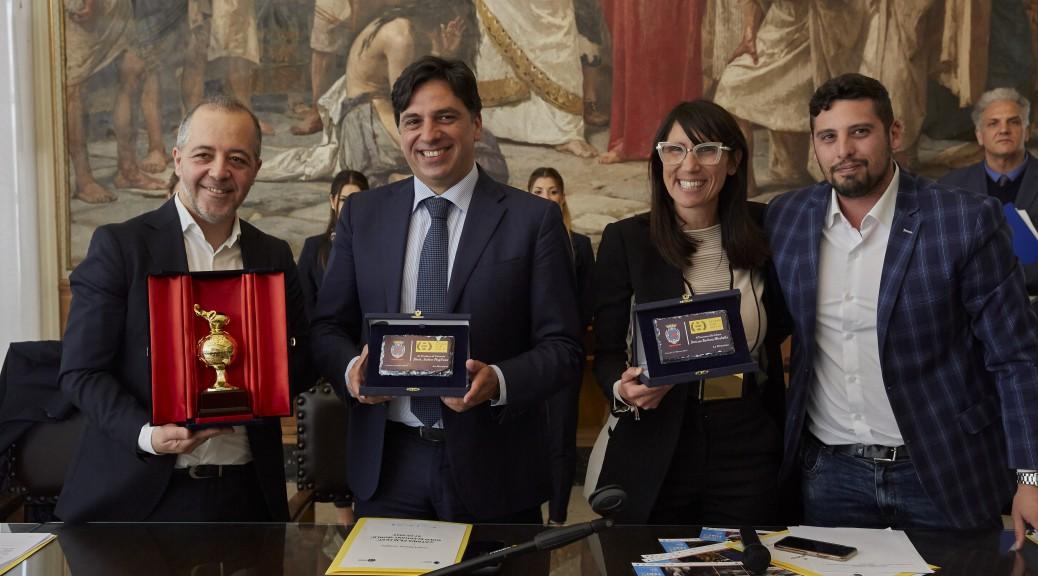 Cateno Piazza_Salvo Pogliese_Barbara Mirabella_Daniele Urciuolo